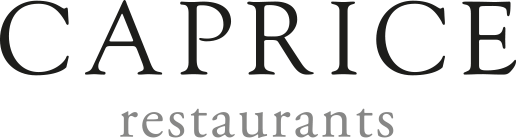 Caprice Restaurants Homepage
