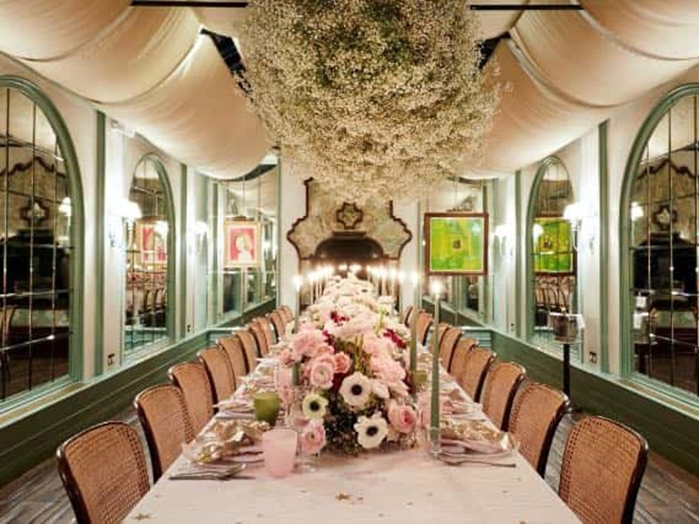 The Private Dining Room at Daphne's, The Conservatory