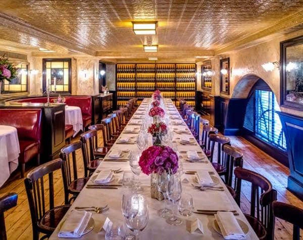 The Private Dining Rooms at Balthazar
